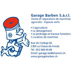 Garage agricole Barben